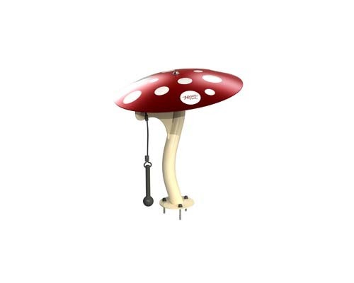 Large Mushroom shown with Surface mount option