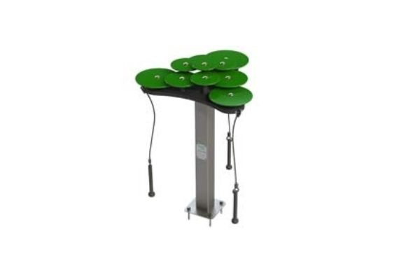 Lilypad Cymbals Green pads